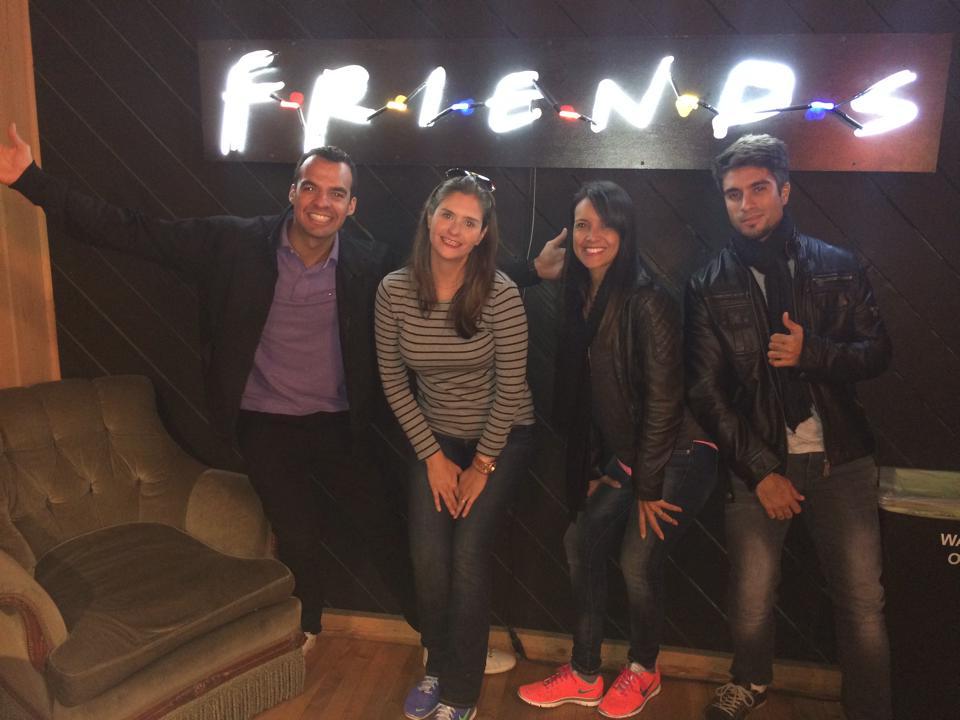 Central Perk Friends - Warner Bros Studio