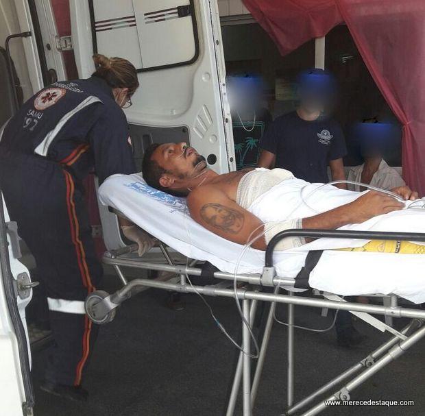 Homem é baleado no Distrito de São Domingos, em Brejo da Madre de Deus