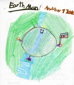 Kids Illustrate how to Care about earth with art