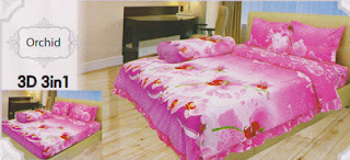 Sprei Lady Rose Orchid