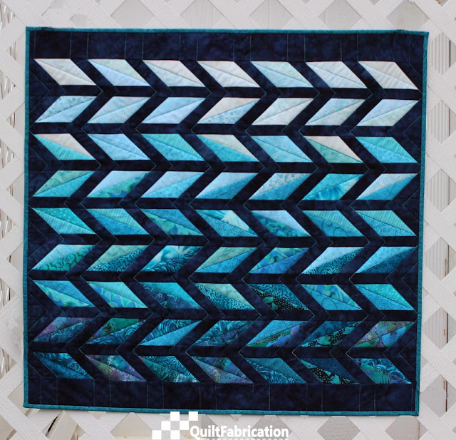 Diamond Chevrons quilt