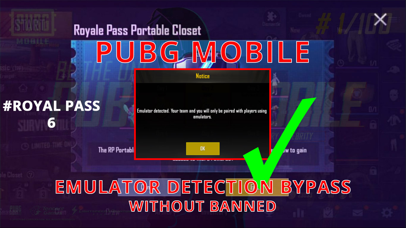 PUBG Emulator Detected Bypass Without Ban - TechMizan
