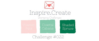 Inspire Create Stamping Challenge #022