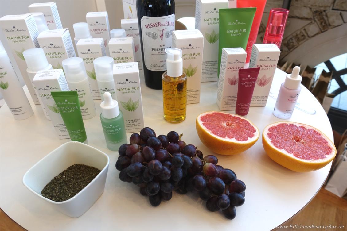 "beautypress ""Green cosmetics"" Naturkosmetik Bloggerevent - Charlotte Meentzen Natur Pur Biolif & Natur Pur Balance"