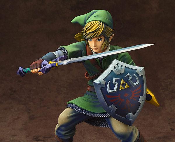 ¡Mira esta impresionante figura de Link! 1