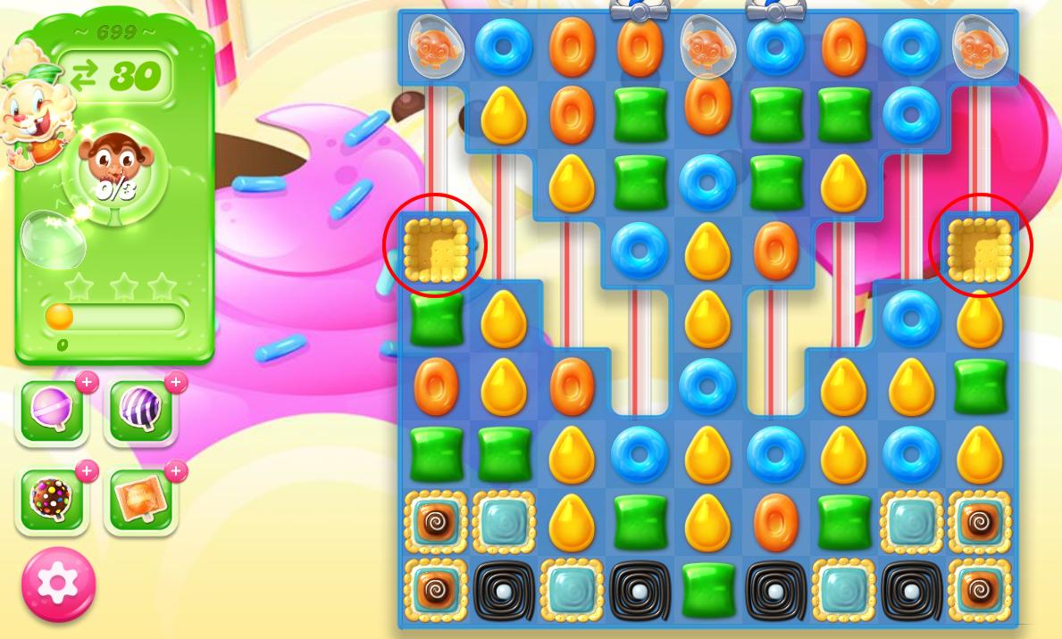 Candy Crush Jelly Saga level 699