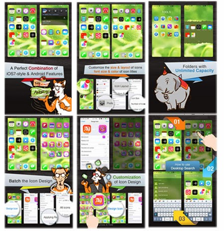 iphone 5c launcher android smartphone themes as ios7 beponsel gadget reviews 1896