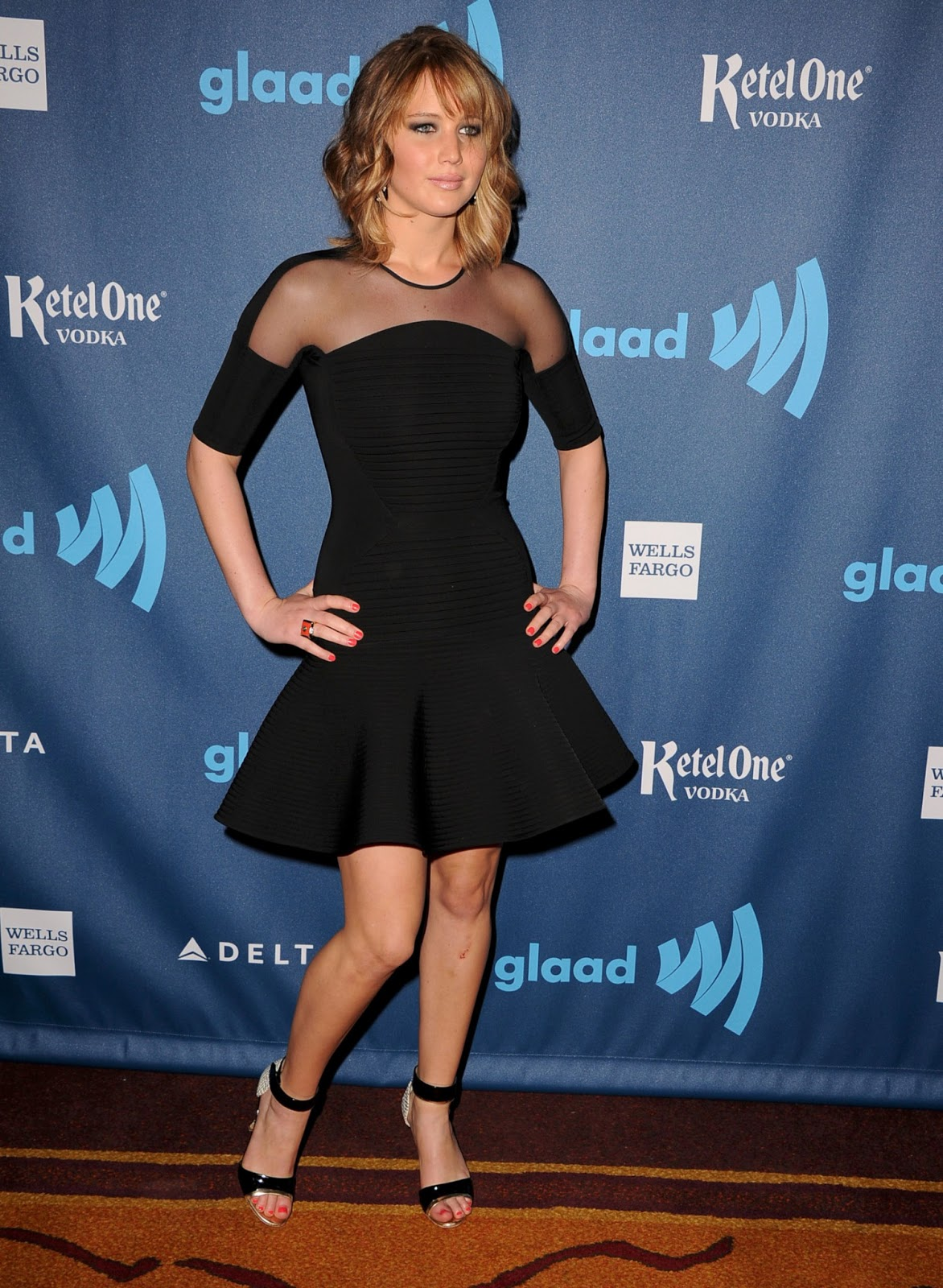 Jennifer Lawrence 24th Annual Glaad Media Awards