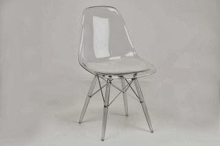silla moderna, silla metacrilato, silla actual, silla comedor