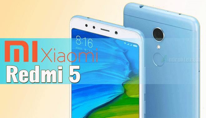 Perusahaan asal Tiongkok dengan merilis  Update Harga Xiaomi Redmi 5 Terbaru 2018 dan Spesifikasi Lengkap