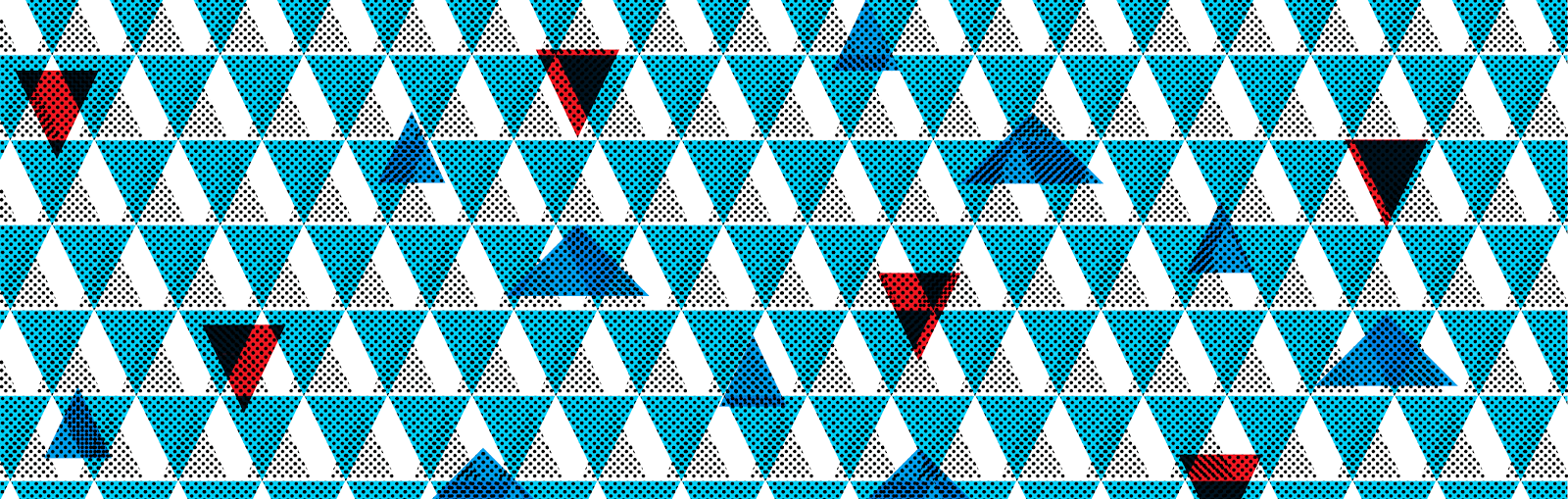 Retro triangles - Jen Haugan Animation & Illustration
