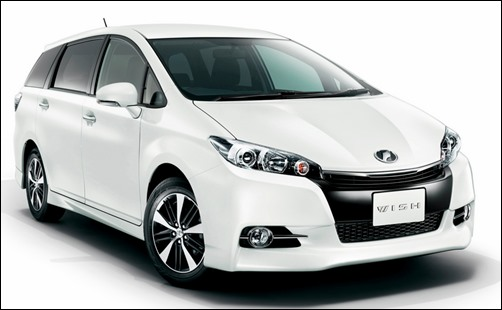 2017 Toyota Wish Space Australia