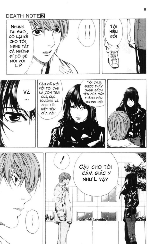 Death Note chapter 014 trang 12