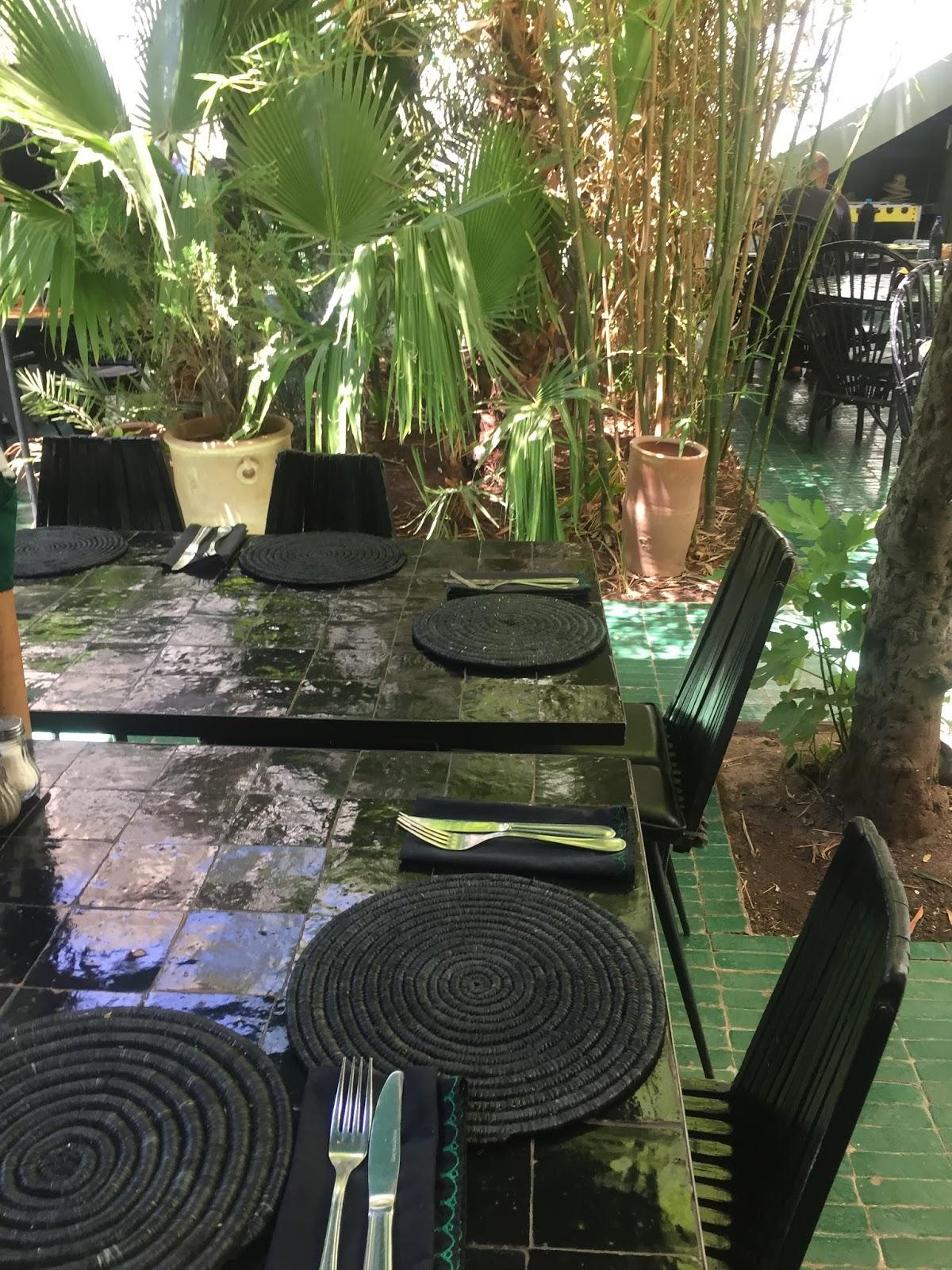 Regardsetmaisons 4 jours marrakech les restaurants for Le jardin 32 route sidi abdelaziz marrakech 40000