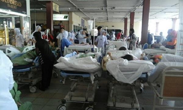 (Video + Gambar) : Hospital Sultanah Aminah Terbakar - Polis Sahkan Ada Pesakit Maut