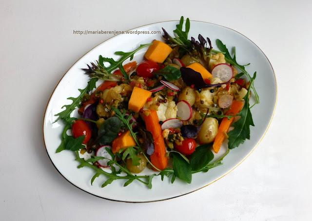 Trilogía vegetal: 1. Escabeche de Verduras con pimientas - Maríapatatafría