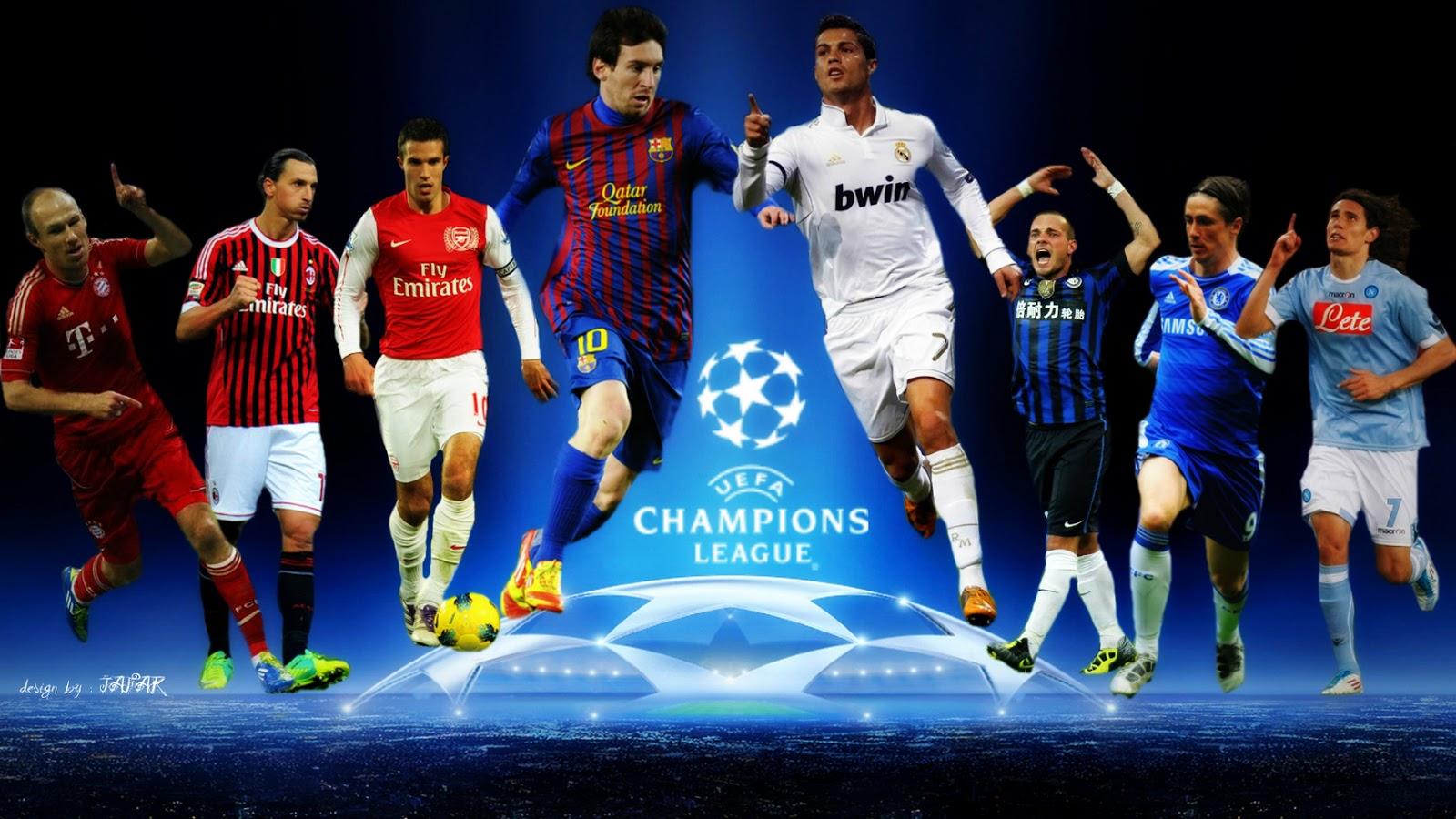 Football Players Wallpaper Free Download Champions League Wallpaper Hd 1280x800