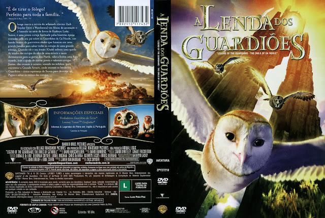 Capa DVD A LENDA DOS GUARDIÕES