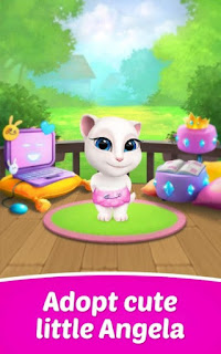 My Talking Angela Apk Mod Unlimited Money