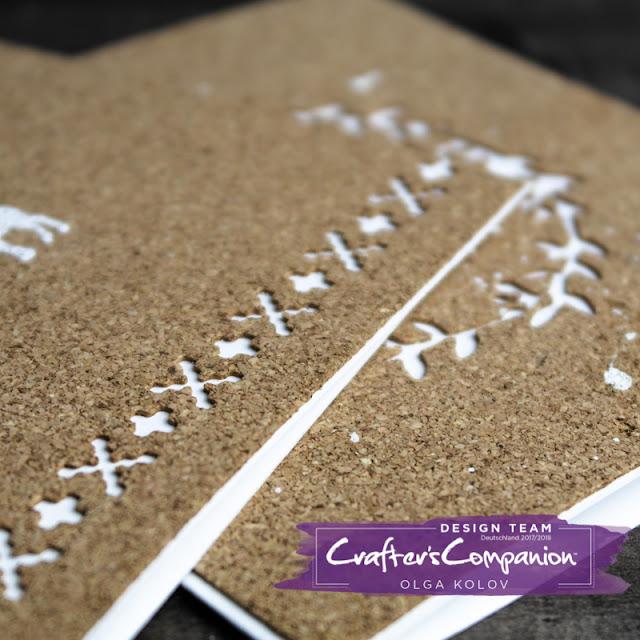 @olgakolov @crafterscompanion #christmas #cardmaking #grüßkarten #kork #cork #diecuts #stanzen