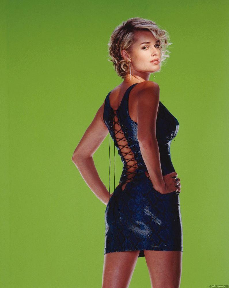 Film noir photos modern femmes fatale part 67 - Rebecca romijn measurements ...