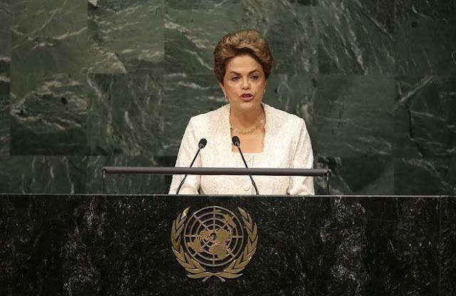 A presidente brasileira Dilma Rousseff afirmou, durante conferência da ONU (Organização das Nações Unidas) em Nova York nesta sexta-feira (22/04), que a sociedade brasileira
