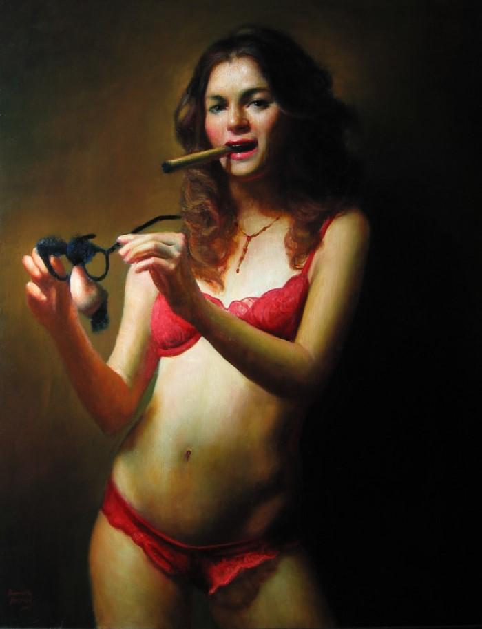 Американский художник-реалист.