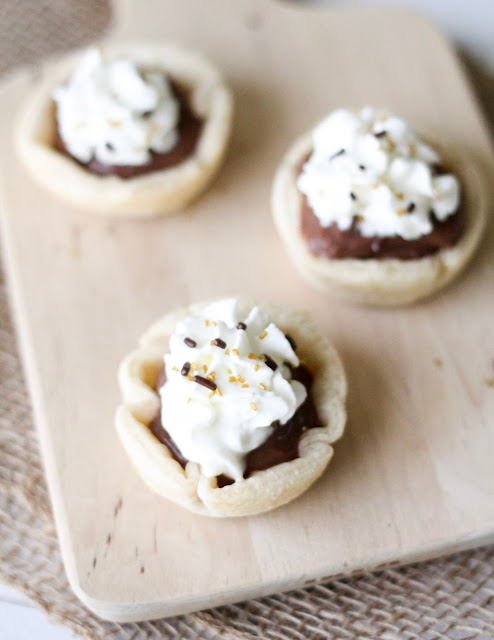 Mini Chocolate Pudding Pies Recipe