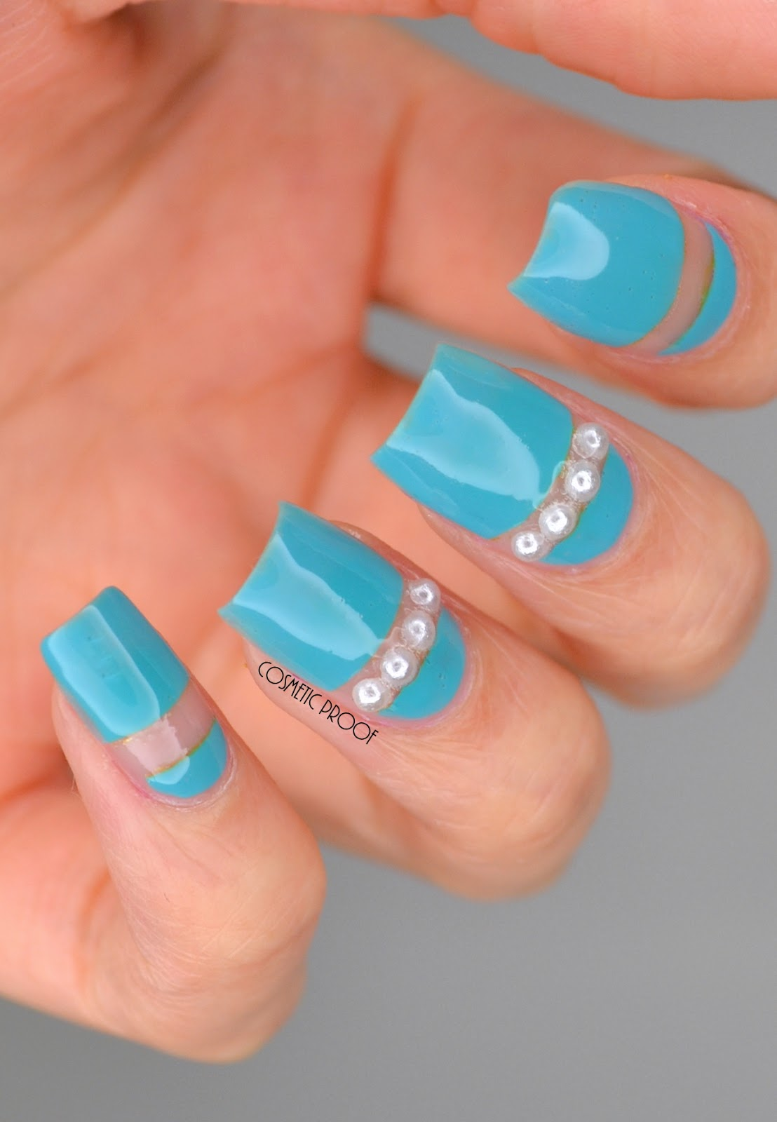 NAILS | Pearls in Negative Space #ManiMonday | Cosmetic Proof ...