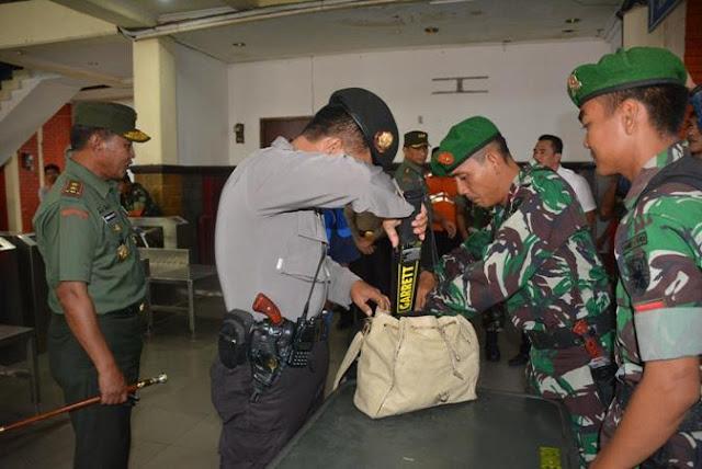 Pangdam II/Sriwijaya Tinjau Posko Imbangan KTT Luar Biasa OKI