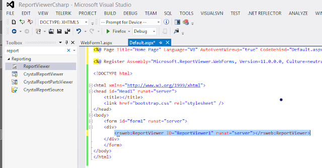Using Report Viewer with Dataset Asp.net Csharp and vb , Using Reporting in asp .net dotnet