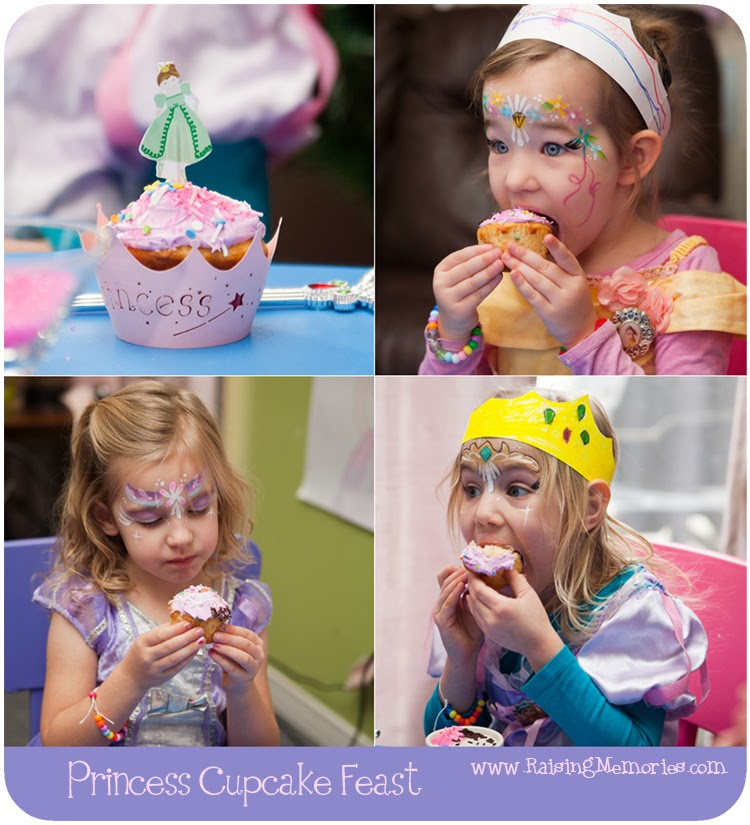 Wholeport Princess Cupcake Accessories at www.RaisingMemories.com