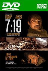 7:19, la hora del temblor (2016) DVDRip