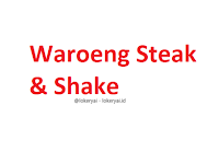 Lowongan Kerja Waroeng Steak & Shake Terbaru