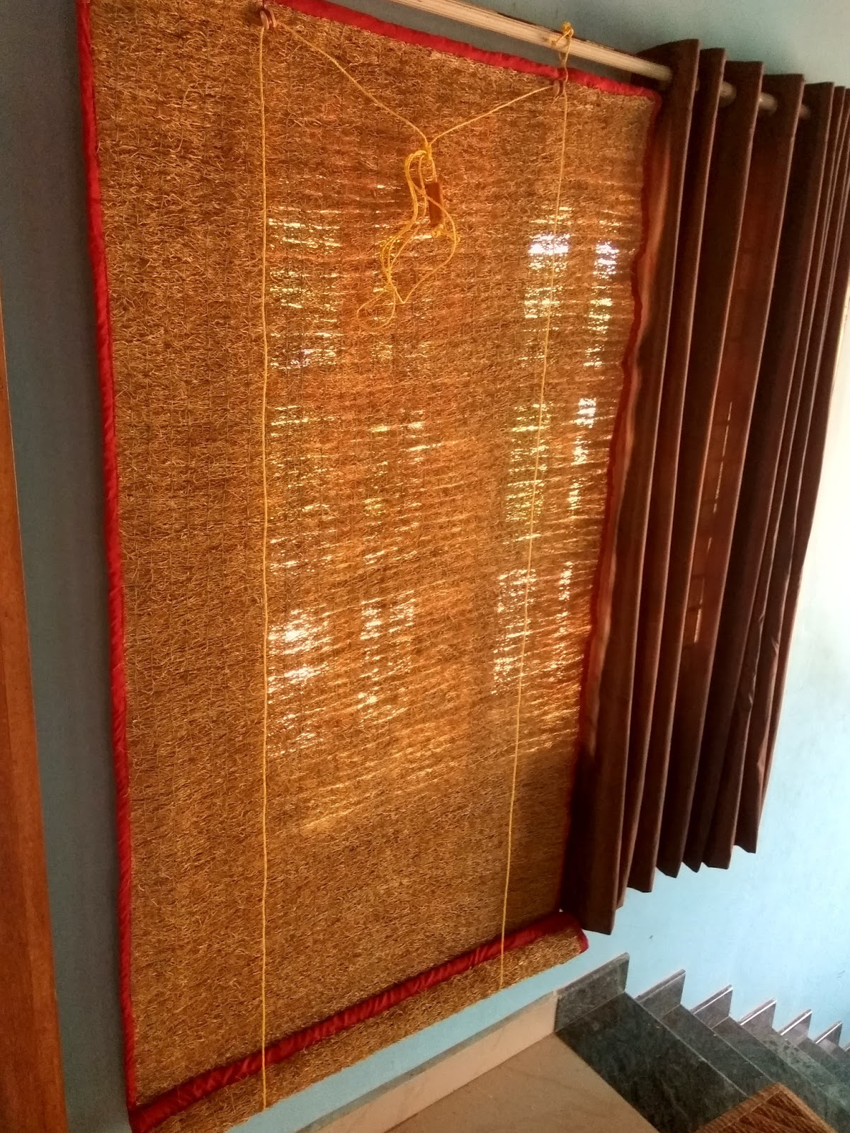Vetiver Window Curtains Usheera Industries