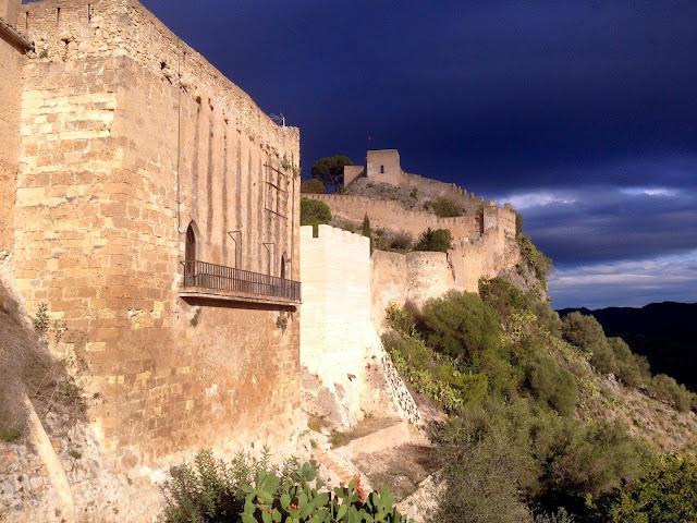 visitar el castillo de Xátiva en Valencia