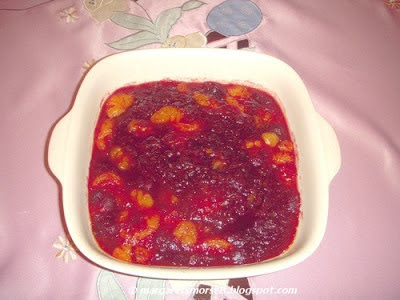 Margaret's Morsels | Cranberry Orange Casserole