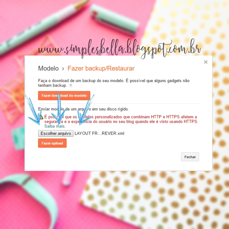 Como instalar um layout free no Blogger