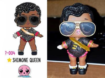 Редкая кукла Shimone Queen