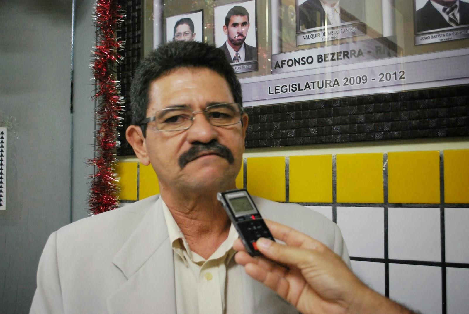 Resultado de imagem para ex-prefeito de Afonso Bezerra, José Robson de Souza,