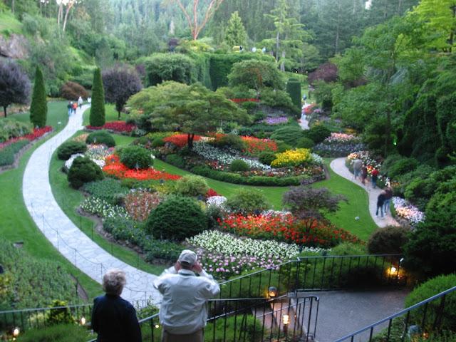 Jardín Hundido Butchart Garden