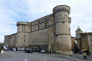 Castillo de Gordes, fachada Norte.