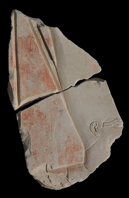 Fragments of lost Egyptian temple found in storage