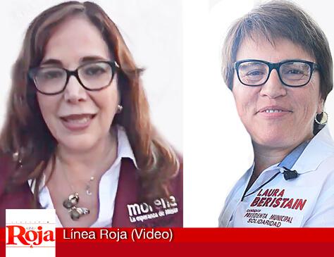 La presidenta nacional de MORENA Yeidckol Polevnsky apoya a Laura Beristain y aclara confusión con el PES para pedir todos los votos para su partido (Video)