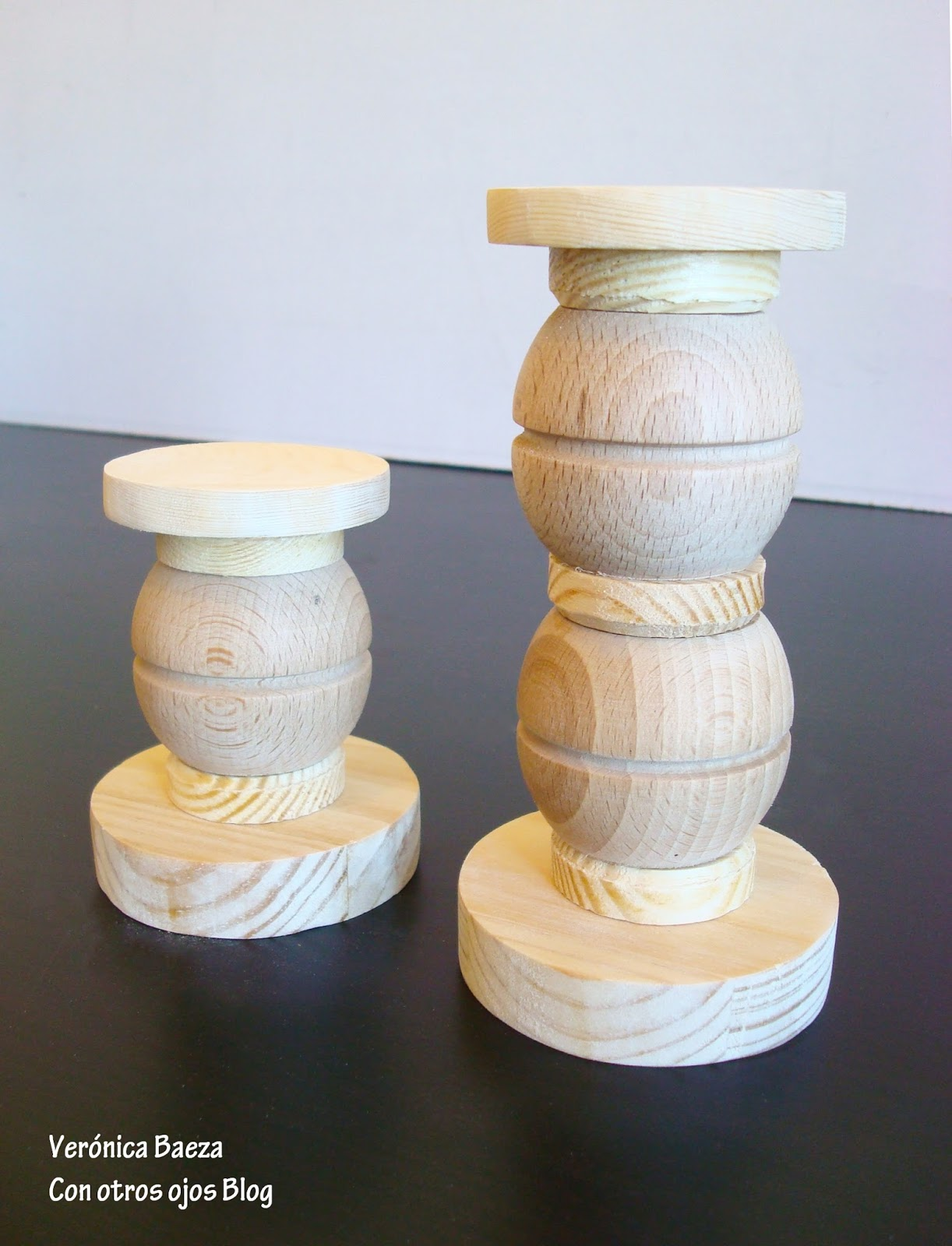 Con otros ojos. Blog de diseño y decoración: DIY: Candelabros de ...