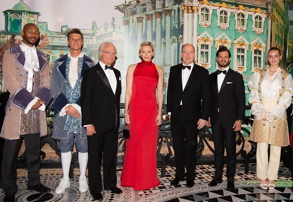 Prince Albert, Princess Charlene, King Carl Gustaf, Prince Carl-Philip, Beatrice Borromeo, Charlotte Casiraghi