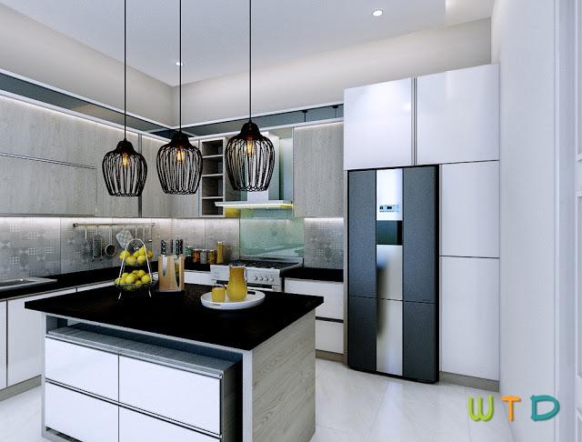 Kitchen Set Dapur Kotor Alam Sutera