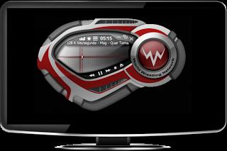 تغير شكل برنامج windows media player الى أشكل جديد
