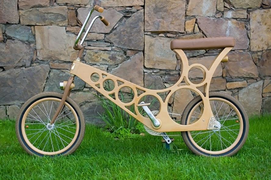ahora no se puede simplemente entrar en su tienda local de bicicletas y recoger un hoopy en su lugar se puede comprar un conjunto de