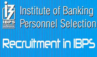 IBPS 2018 | Recruitment for Specialist Officer (CRP SPL - VIII) Post